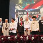 Ordre de Tahiti Nui: huit nouveaux récipiendaires