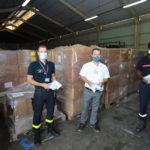 13 000 masques en faveur de la Ville de Papeete