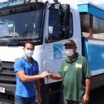 Faa'a modernise sa flotte de trucks